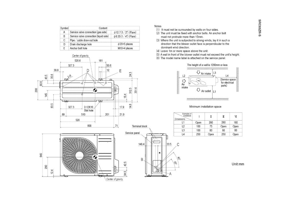 medium resolution of mitsubishi heavy industries air conditioning srk63zr s wall mounted 6 3kw 21000 btu